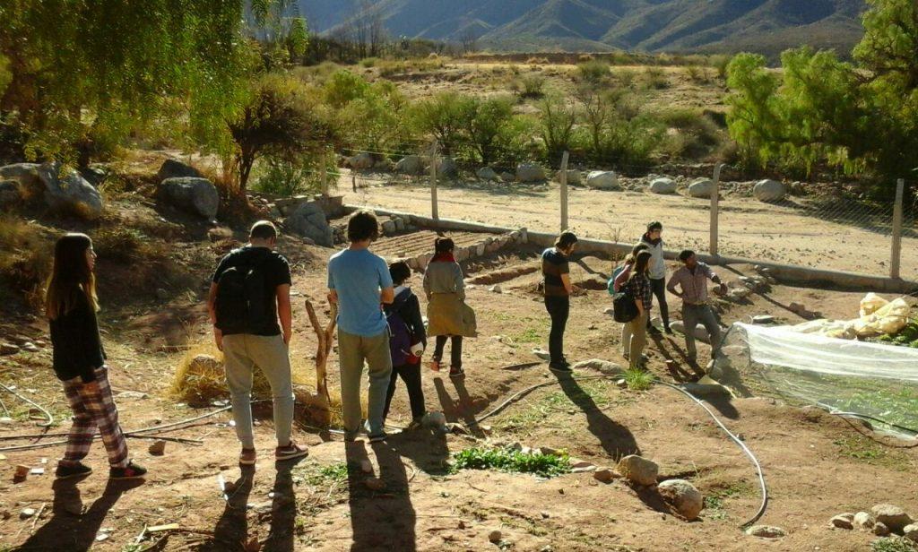 Llegando a Luracatao