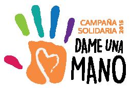 Campaña Solidaria Dame una Mano 2015 (logo)